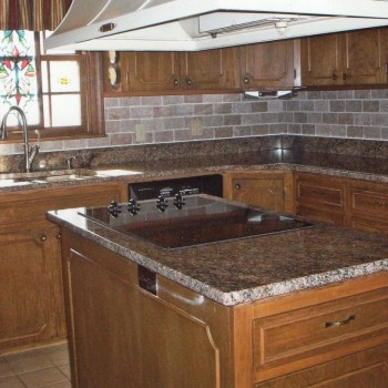 2010 Lawing Marble Kitchen Install 1