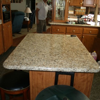 2012 Lawing Marble Kitchen NVG Install 3