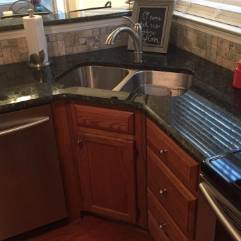 2014 Lawing Marble Kitchen Install C
