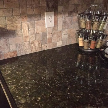 2014 Lawing Marble Kitchen Install D