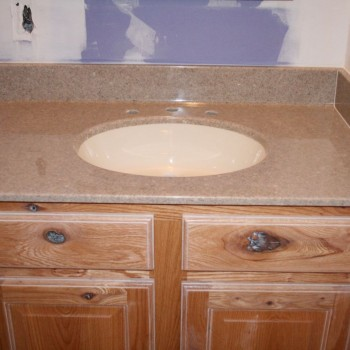 Lawing Marble Bathrooms Quarry Marble with Solid Bone Sink
