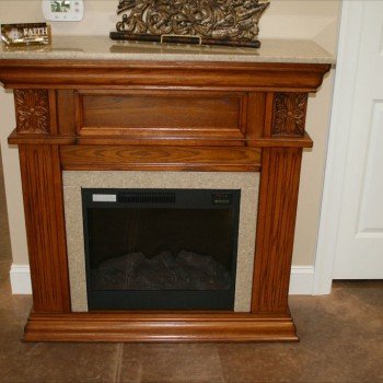 Lawing Marble Fireplace Showroom