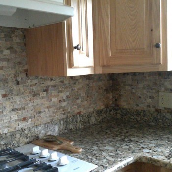2013 Lawing Marble Kitchen Install 6