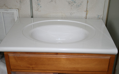 Recessed Oval Bowl Sink