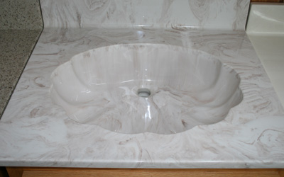 Shell Bowl Sink